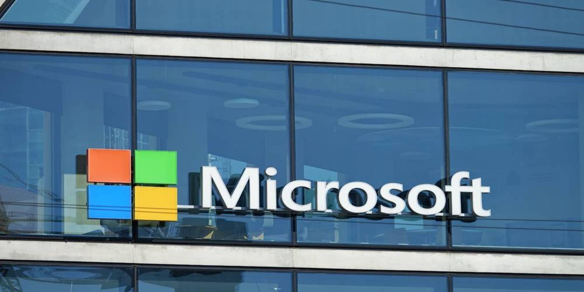16.8 مليون يورو إيرادات «مايكروسوفت» في الساعة خلال 2020