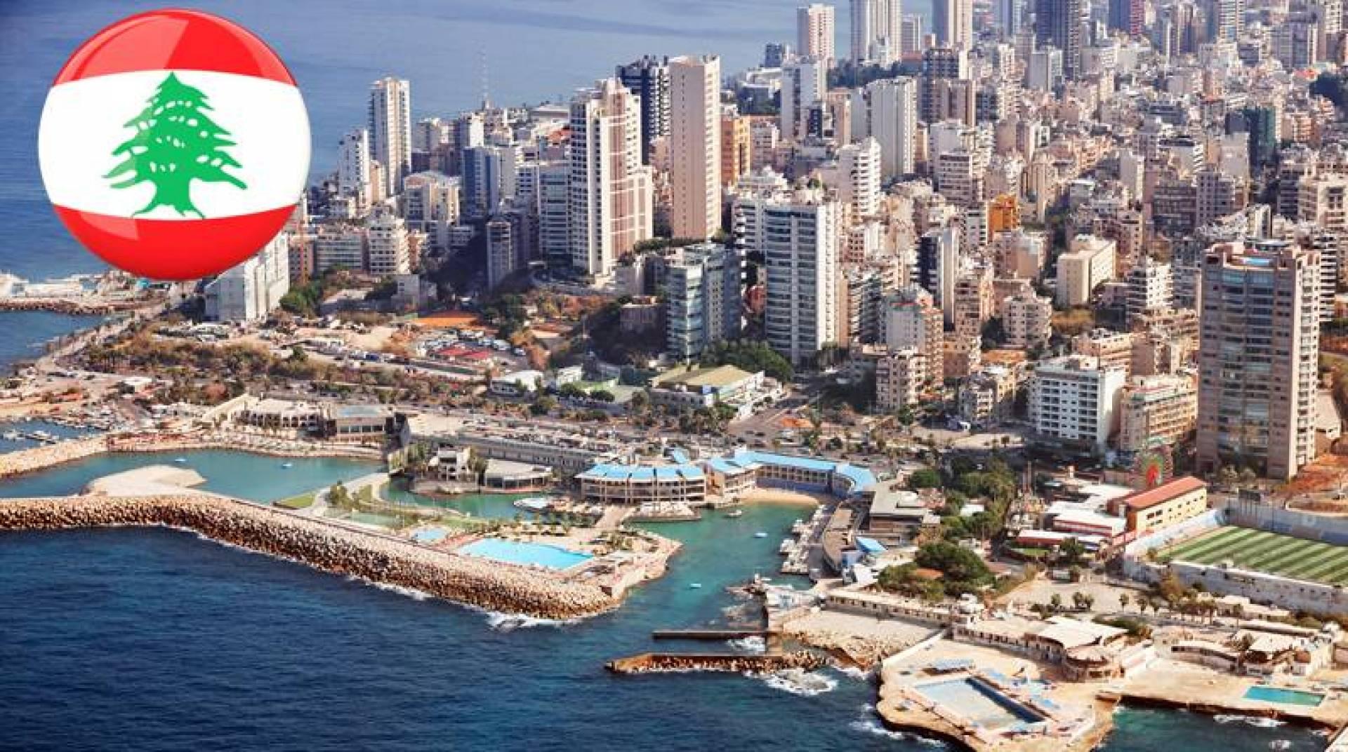 صورة جوية للعاصمة بيروت.. كما بدت أمس (أ ف ب)