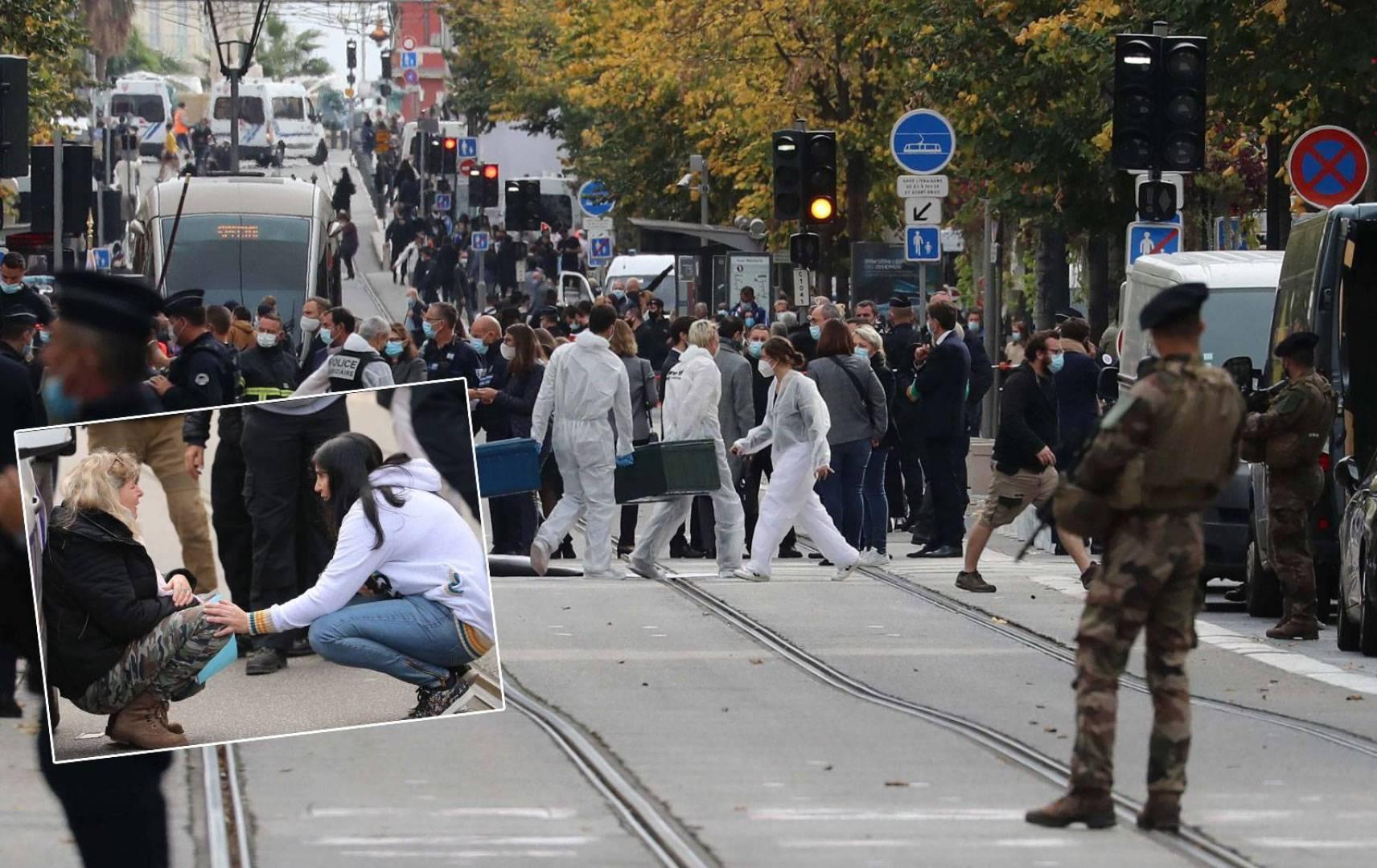 نادل مطعم قريب من حادث الطعن في نيس: رأيت إطلاق نار كثيف وامرأة تصرخ