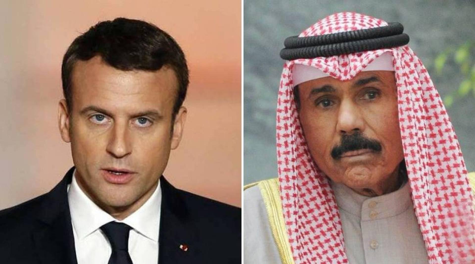 سمو الأمير يعرب للرئيس الفرنسي عن استنكار الكويت وإدانتها لهجوم مدينة «نيس»