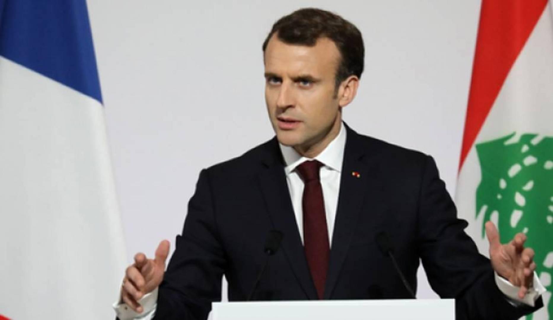 ماكرون يشدد على حاجة لبنان «الملحة» إلى تشكيل حكومة