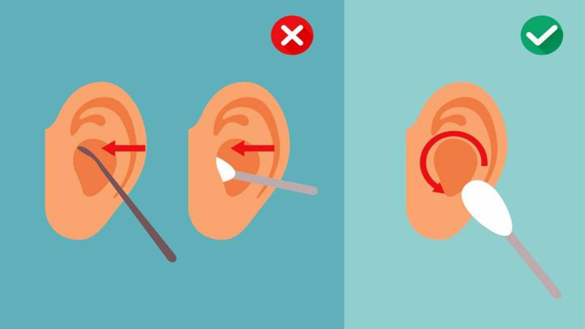 لهذا يجب التخلي عن أعواد الأذن القطنية