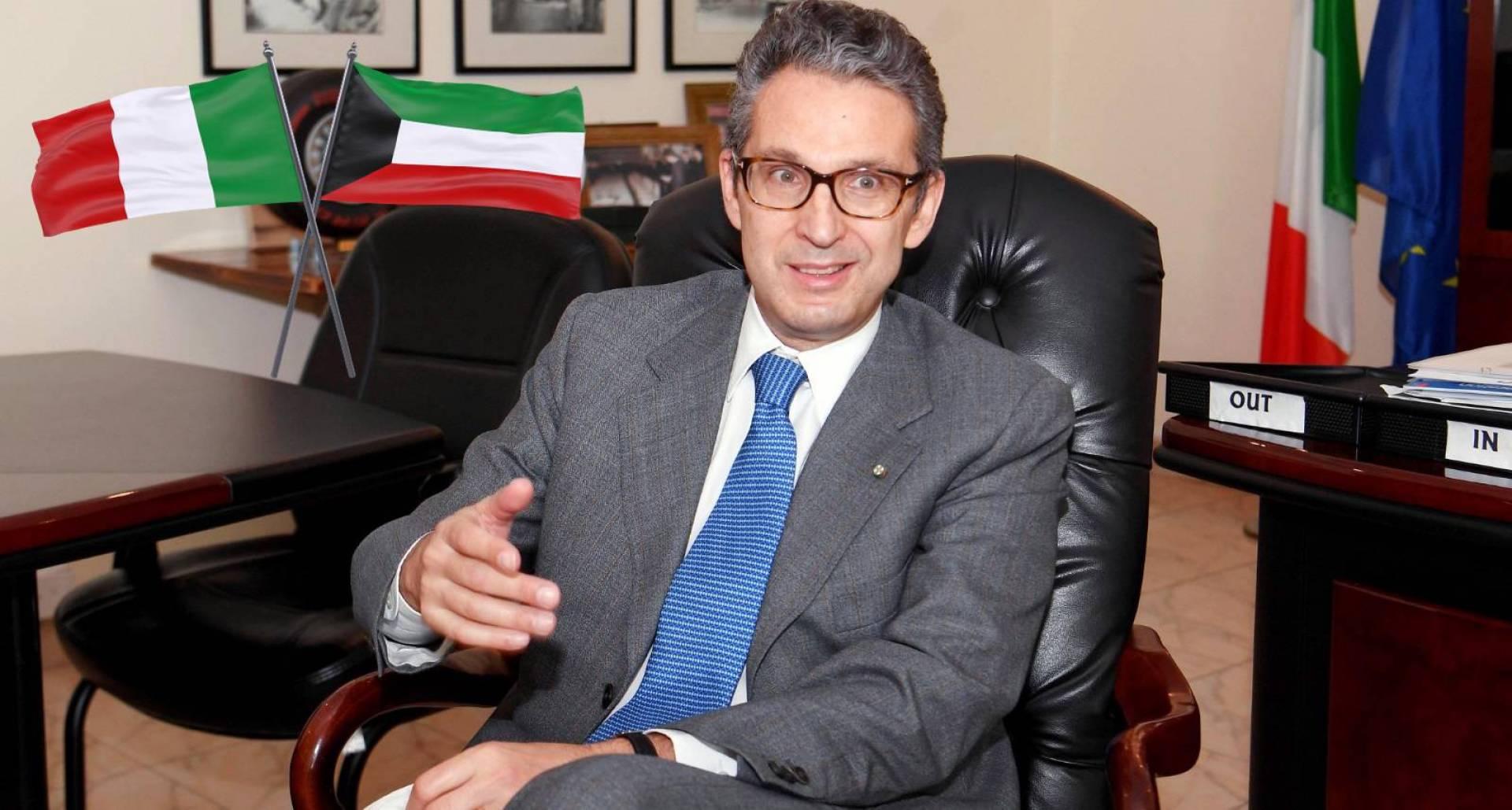 السفير الإيطالي  كارلو بالدوتشي لـ«القبس»: ندعم إعفاء الكويتيين من الـ«شنغن»