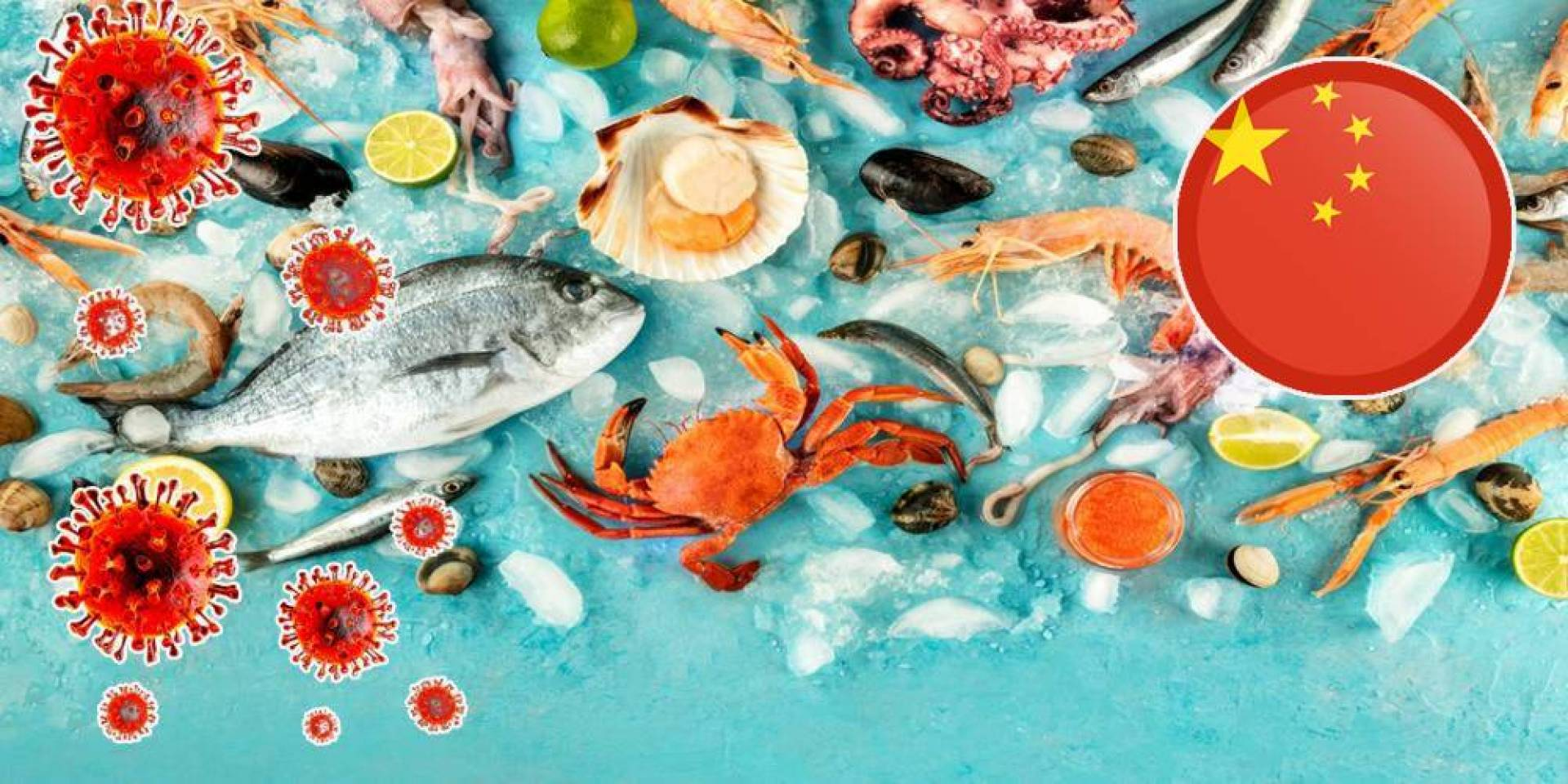 الصين توقف استيراد مأكولات بحرية تشيلية.. بعد اكتشاف «كورونا» داخلها