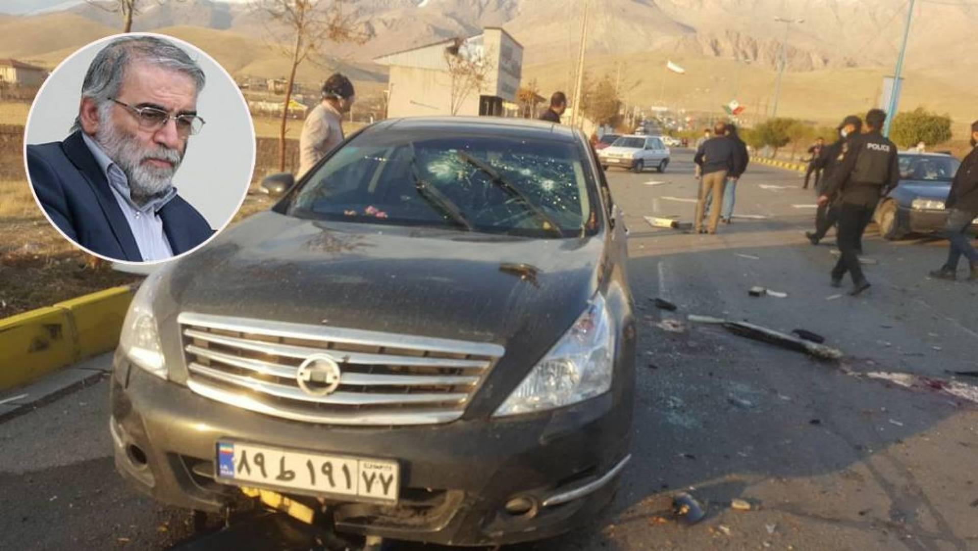 اغتيال العالم النووي الإيراني محسن فخري زادة في هجوم مسلح بطهران
