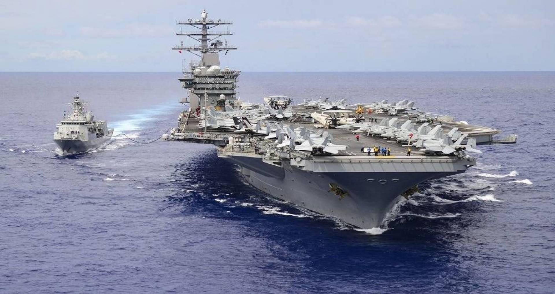 «البنتاغون» يأمر بإعادة تحريك حاملة الطائرات «نيميتز» إلى داخل مياه الخليج العربي