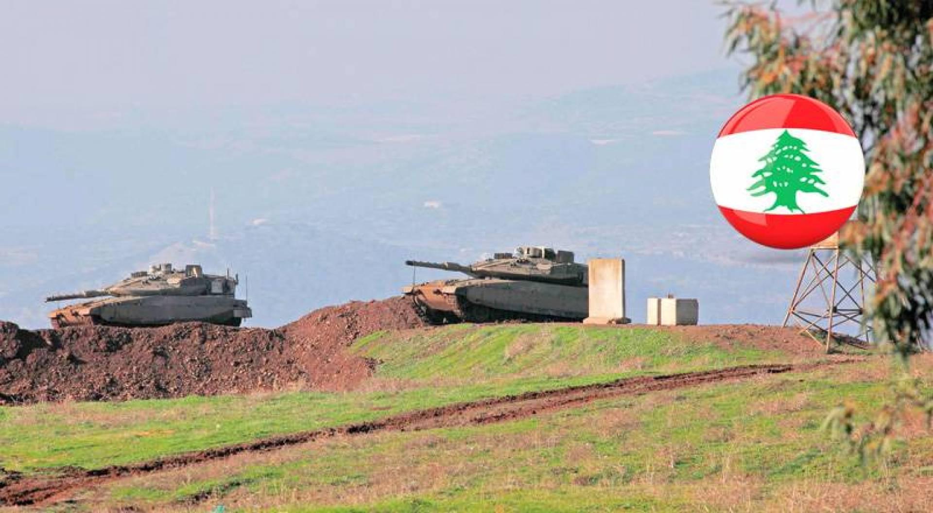دبابات إسرائيلية تعزز موقعاً في هضبة الجولان يطل على قرى لبنانية (أ.ف.ب)