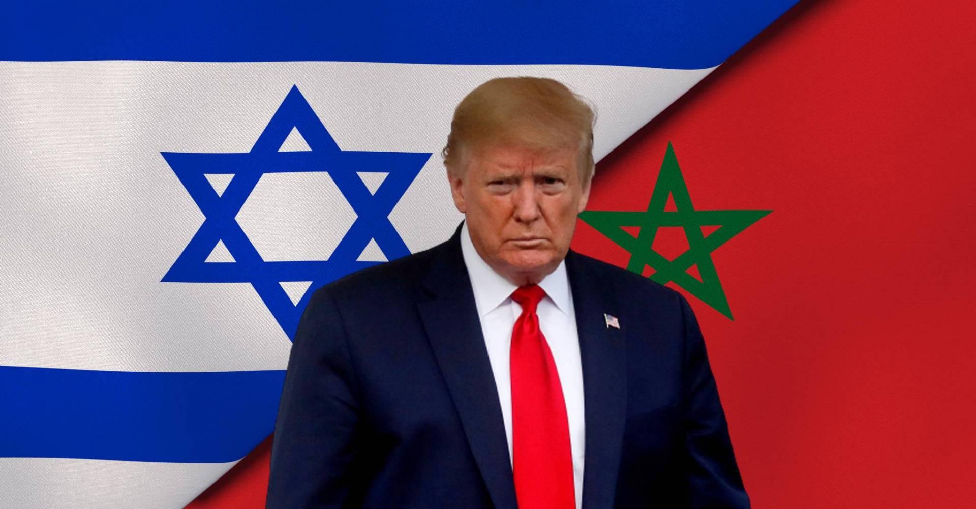 ترامب يعلن تطبيع المغرب وإسرائيل