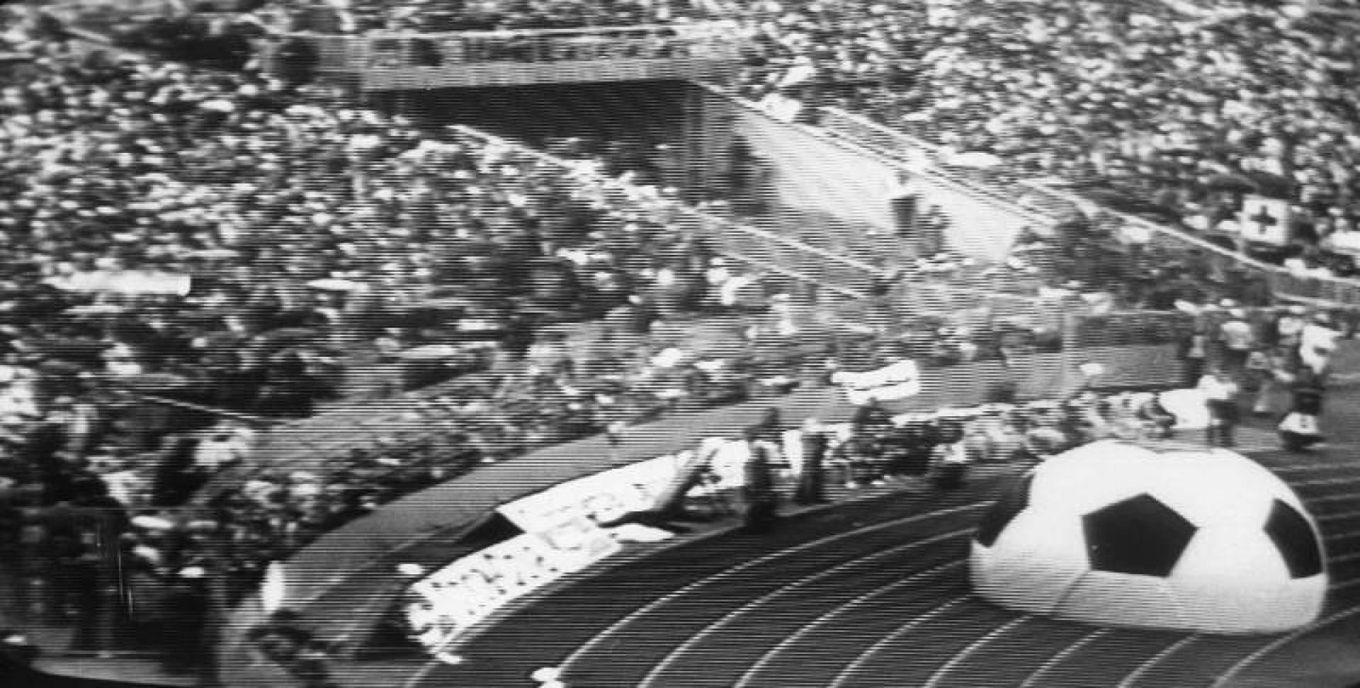 1974| افتتاح بطولة كأس العالم العاشرة لكرة القدم في ألمانيا الغربية
