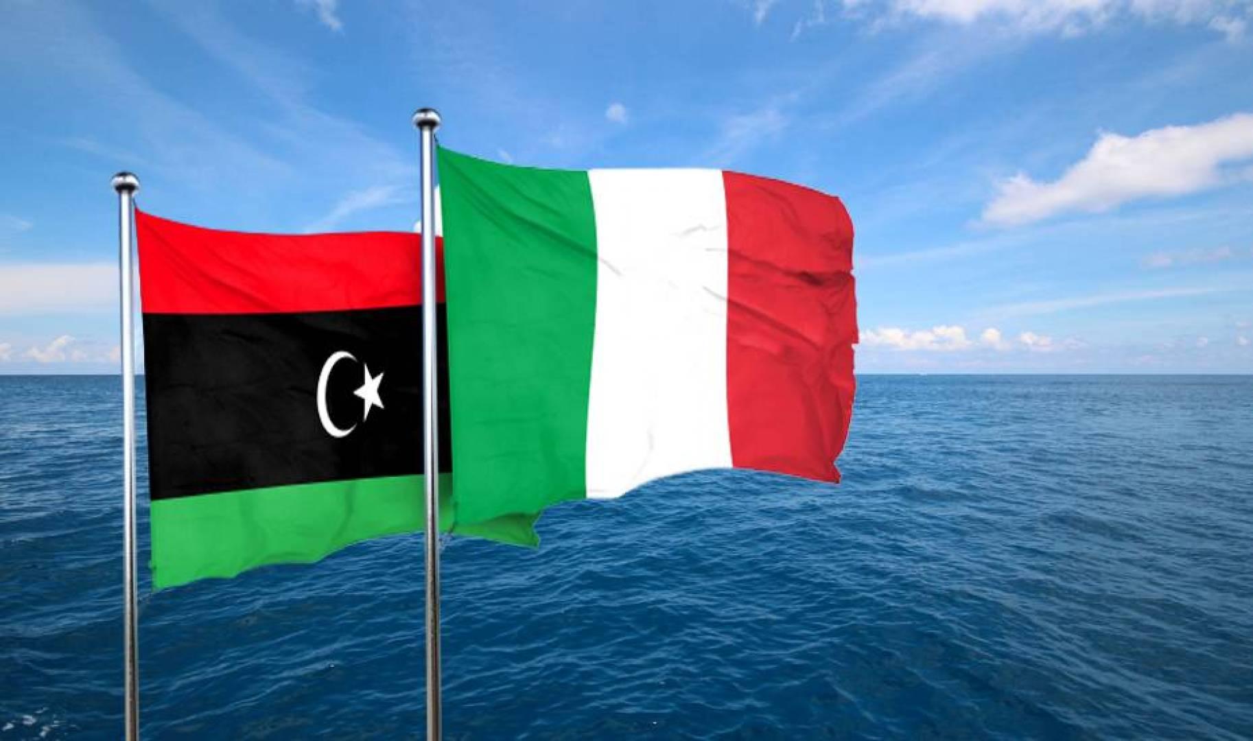 العلاقات البحرية الليبية الإيطالية: مد وجزر
