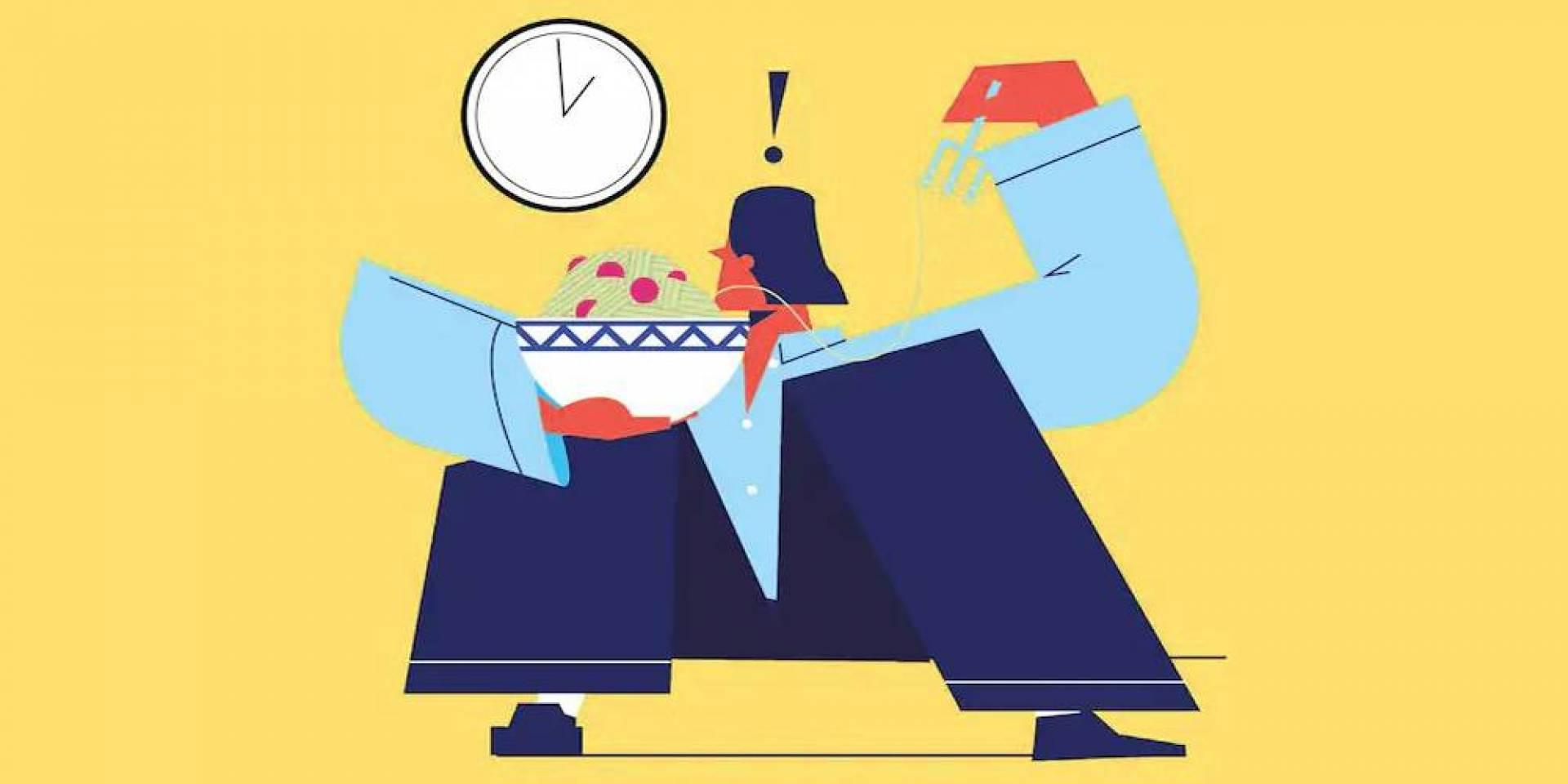 فكرة جديدة لإنقاص الوزن: غَيّر توقيت أكلك