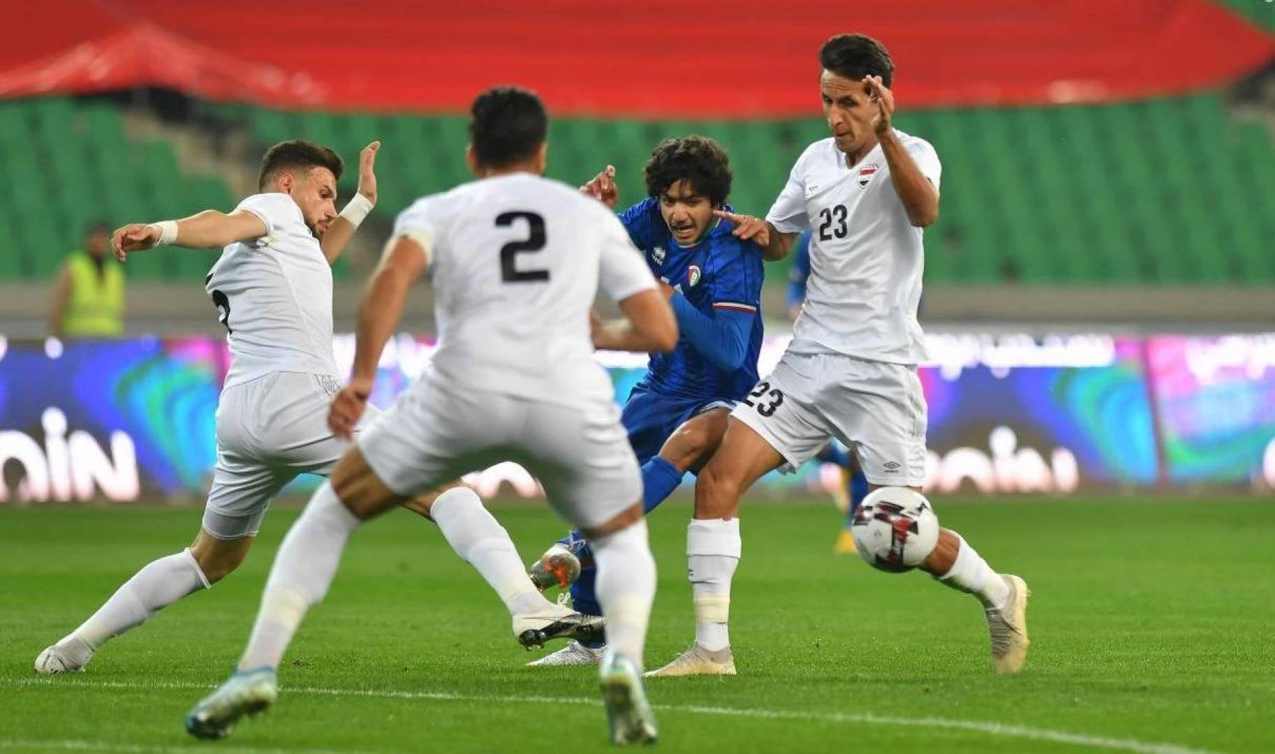 منتخب الكويت يخسر أمام نظيره العراقي في مباراة دولية ودية